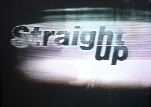 'Straight Up' main titles (in HelveticaP