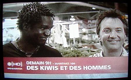 Promo for DES KIWIS ET DES HOMMES