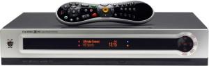 TiVo remote and box