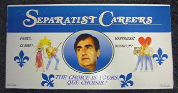 Separatist Careers board game shows Lucien Bouchard