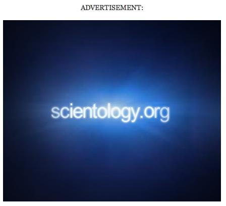Scientology ad