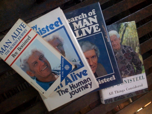 Four books by Roy Bonisteel