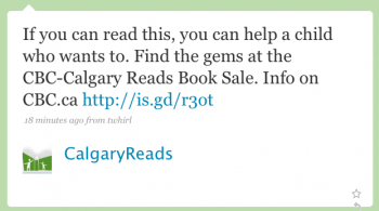 CalgaryReads: If you can read this, you cano help a child who wants to