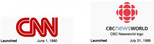 CNN and Newsworld logos