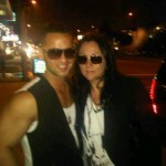 Kelly Cutrone and The Situation at the MTV Movie Awards