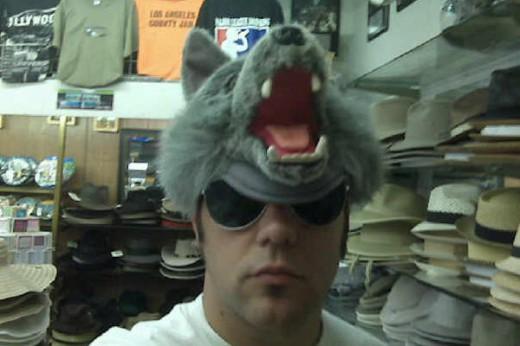 Strombo wolf hat